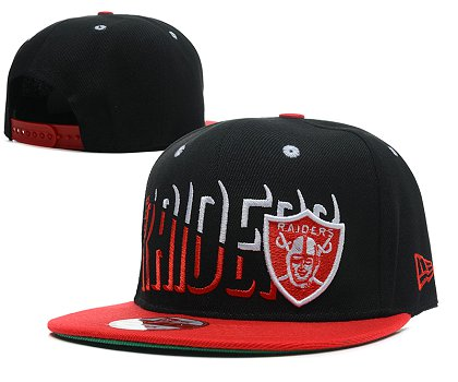 Oakland Raiders Snapback Hat SD 1s20