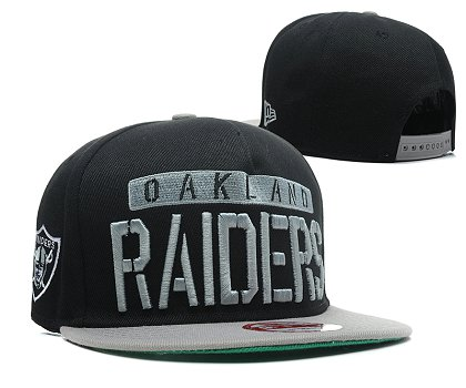 Oakland Raiders Snapback Hat SD 1s21