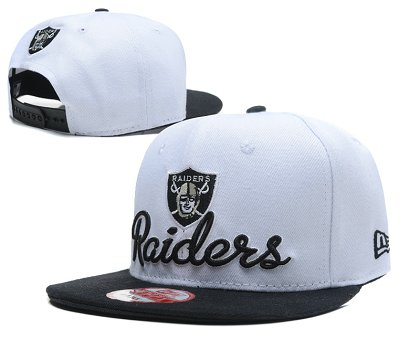 Oakland Raiders Snapback Hat SD 1s23