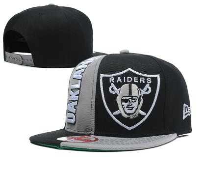 Oakland Raiders Snapback Hat SD 1s25
