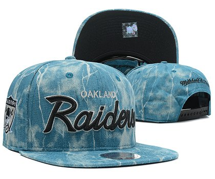 Oakland Raiders Snapback Hat SD 8702