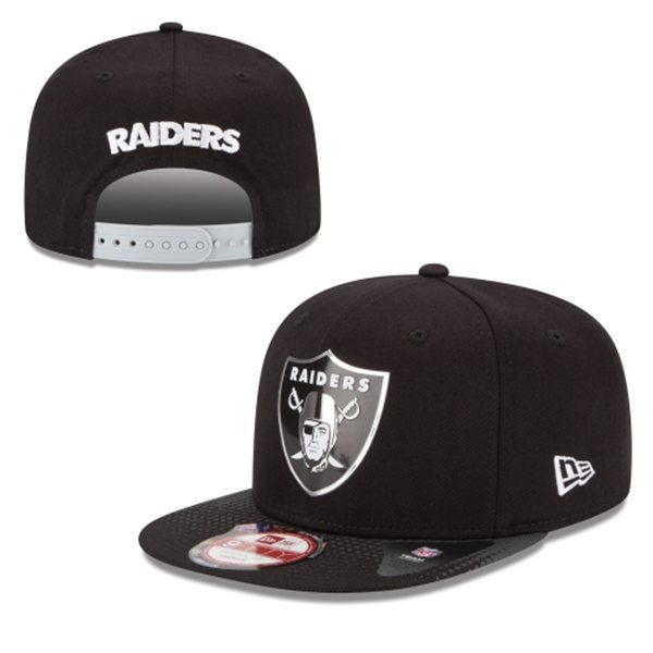 Oakland Raiders Snapback Black Hat 1 XDF 0620