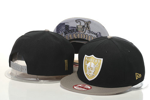 Oakland Raiders Snapback Black Hat GS 0620