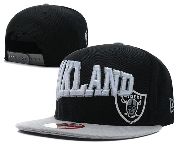 Oakland Raiders Snapback Hat SD 2802