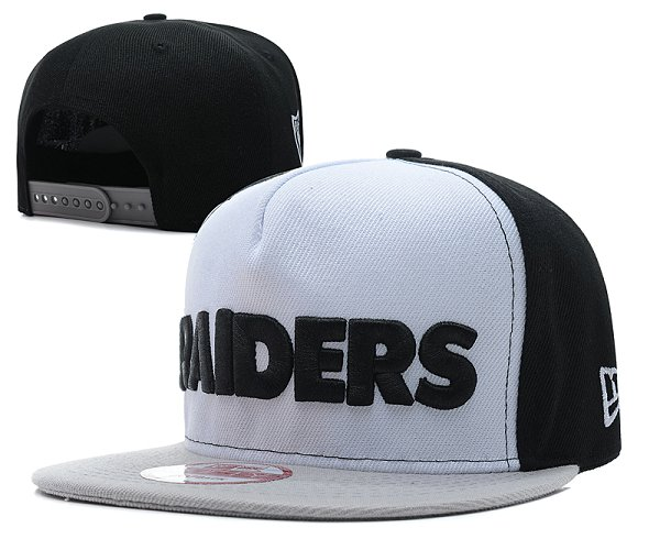 Oakland Raiders Snapback Hat SD 2805