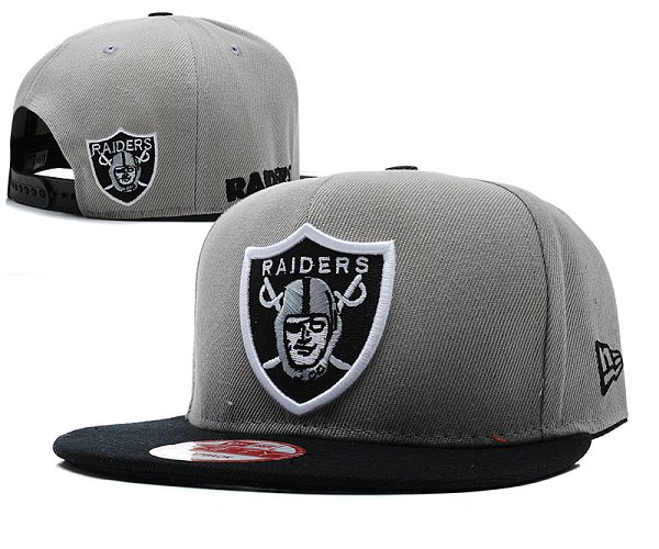 Oakland Raiders Snapback Hat SD 8501
