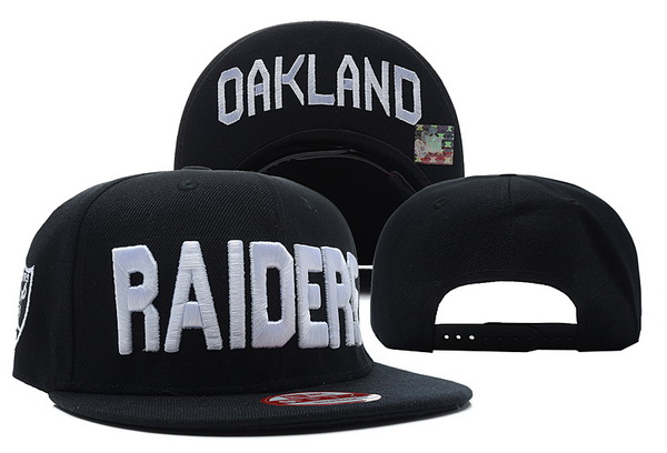 Oakland Raiders Snapback Hat XDF 531