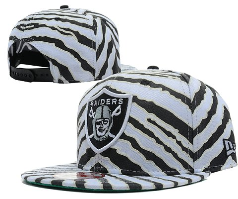 Oakland Raiders NFL Snapback Hat SD03
