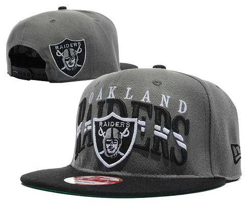 Oakland Raiders NFL Snapback Hat SD07