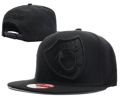 Oakland Raiders NFL Snapback Hat SD08