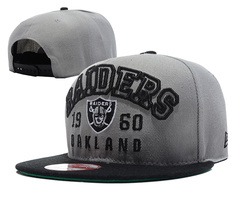 Oakland Raiders NFL Snapback Hat SD11