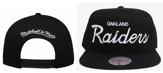 Oakland Raiders NFL Snapback Hat Sf3