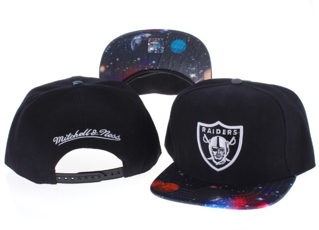 Oakland Raiders NFL Snapback Hat Sf5