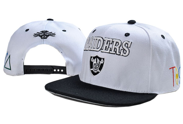 Oakland Raiders NFL Snapback Hat TY 02