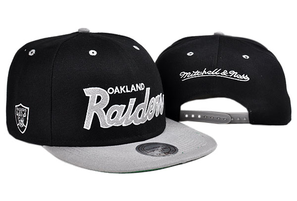 Oakland Raiders NFL Snapback Hat TY 10