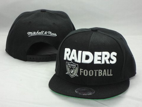 Oakland Raiders NFL Snapback Hat ZY8