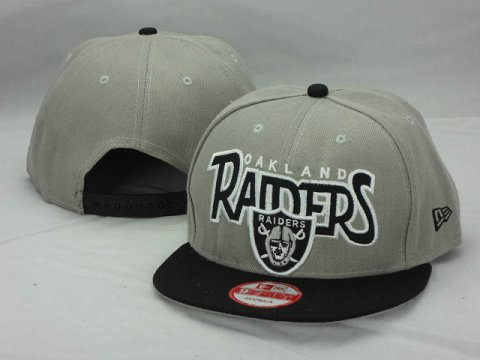 Oakland Raiders NFL Snapback Hat ZY9