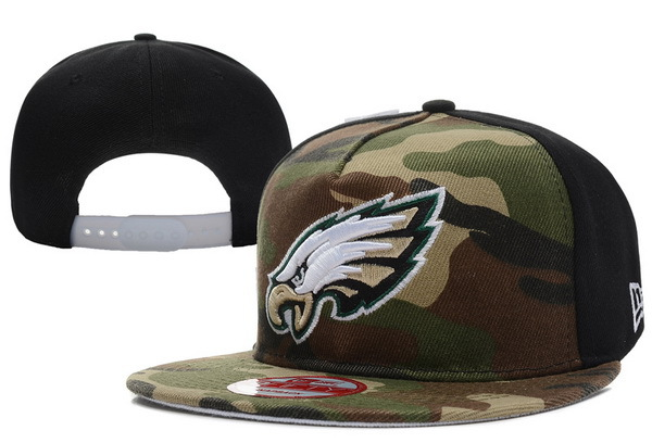 Philadelphia Eagles Camo Snapback Hat XDF