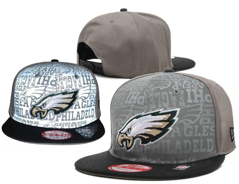 Philadelphia Eagles Reflective Snapback Hat SD 0721