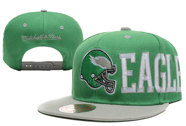 Philadelphia Eagles Snapback Green Hat LX 0620