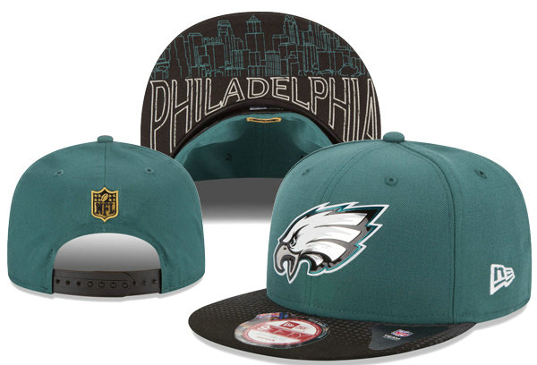 Philadelphia Eagles Snapback Green Hat XDF 0620
