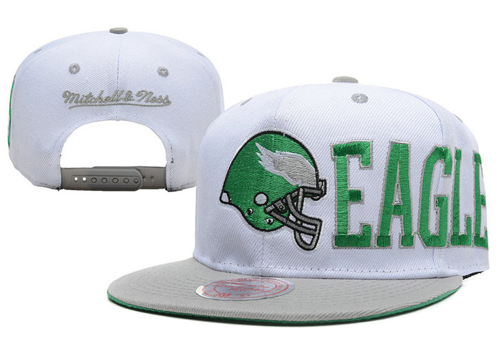 Philadelphia Eagles Snapback White Hat LX 0620