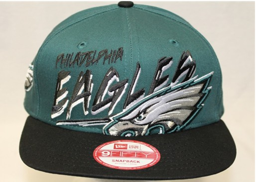 Philadelphia Eagles NFL Snapback Hat 60D4