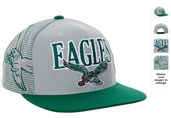 Philadelphia Eagles NFL Snapback Hat 60D5