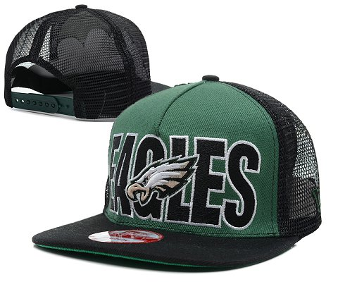 Philadelphia Eagles NFL Snapback Hat SD4