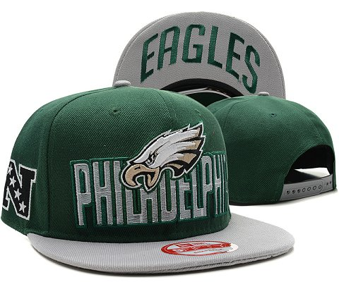 Philadelphia Eagles NFL Snapback Hat SD5