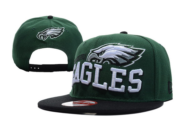 Philadelphia Eagles NFL Snapback Hat TY 6