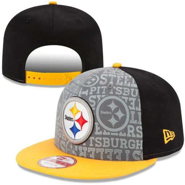 Pittsburgh Steelers Snapback Hat XDF 0528