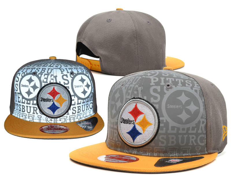 Pittsburgh Steelers Reflective Snapback Hat SD 0721