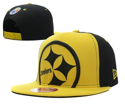 Pittsburgh Steelers Snapback Hat 103SD 18