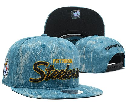 Pittsburgh Steelers Snapback Hat SD 8704