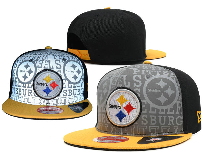 Pittsburgh Steelers 2014 Draft Reflective Snapback Hat SD 0613