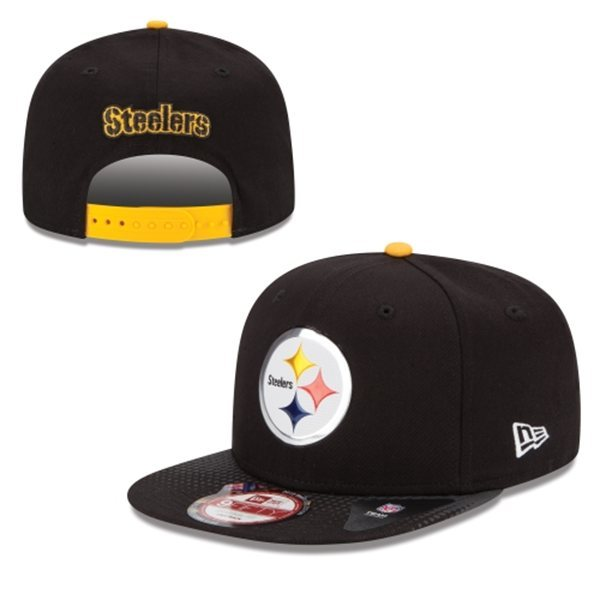 Pittsburgh Steelers Snapback Black Hat 1 XDF 0620