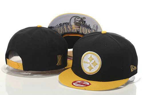 Pittsburgh Steelers Snapback Black Hat GS 0620