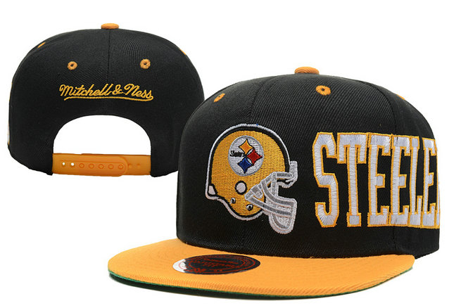 Pittsburgh Steelers Snapback Black Hat LX 0620