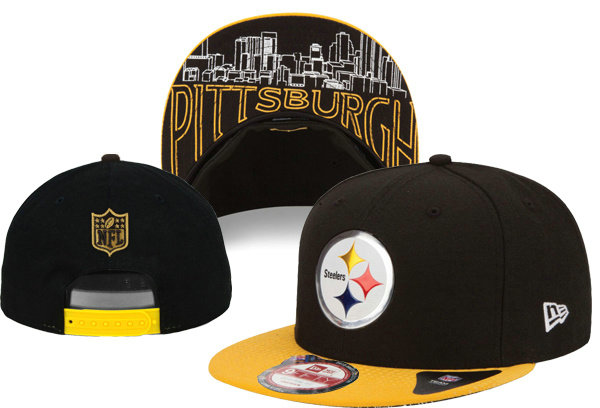 Pittsburgh Steelers Snapback Black Hat XDF 0620