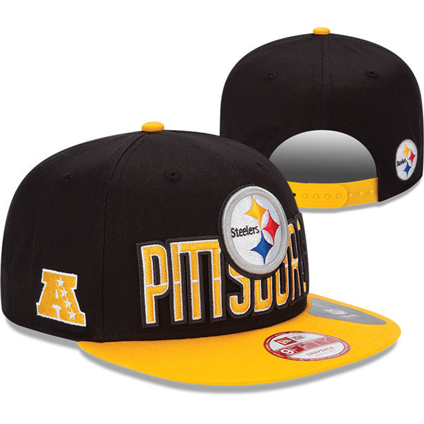Pittsburgh Steelers Snapback Hat SD 2810