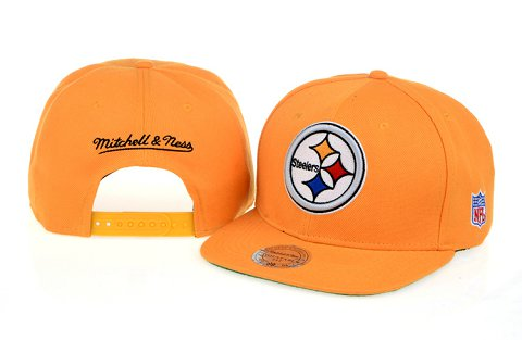 Pittsburgh Steelers NFL Snapback Hat 60D1