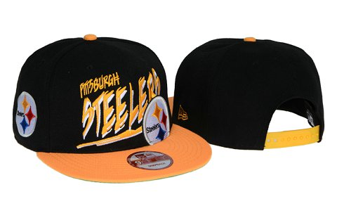 Pittsburgh Steelers NFL Snapback Hat 60D6