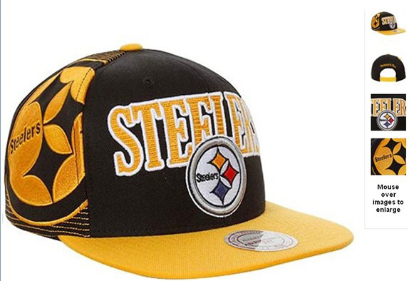 Pittsburgh Steelers NFL Snapback Hat 60D7