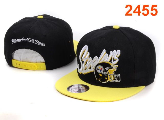 Pittsburgh Steelers NFL Snapback Hat PT64