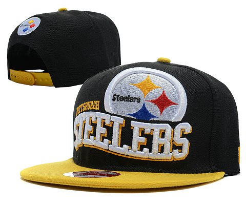 Pittsburgh Steelers NFL Snapback Hat SD02