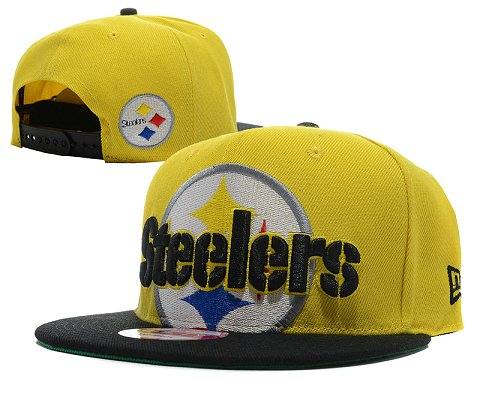 Pittsburgh Steelers NFL Snapback Hat SD03