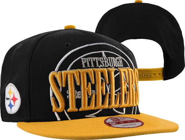 Pittsburgh Steelers NFL Snapback Hat SD06
