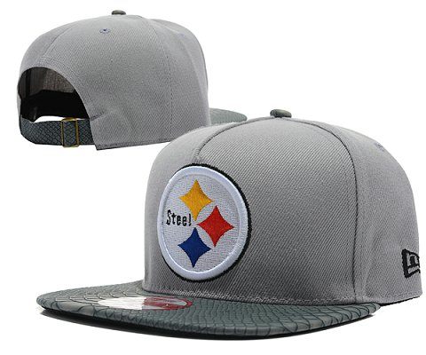 Pittsburgh Steelers NFL Snapback Hat SD07