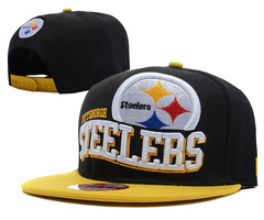 Pittsburgh Steelers NFL Snapback Hat SD08